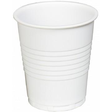 Plastic White Cup 7oz 50'S