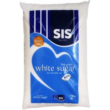SIS Fine Grain White Sugar 2kg