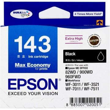 Epson Ink Cartridge (143) Black