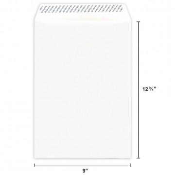White Envelope C4 (A4) Peel & Seal 10'S