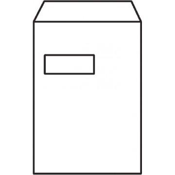 White Window Envelope C4 (A4) Peel & Seal 250'S