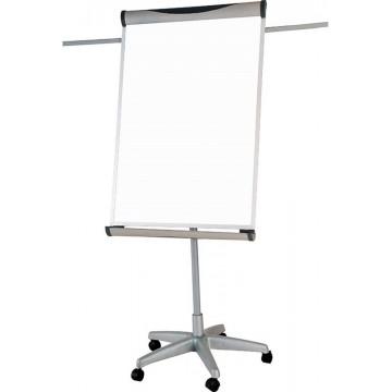 Magnetic Flip Chart Whiteboard (60 x 90cm) Castor Wheel
