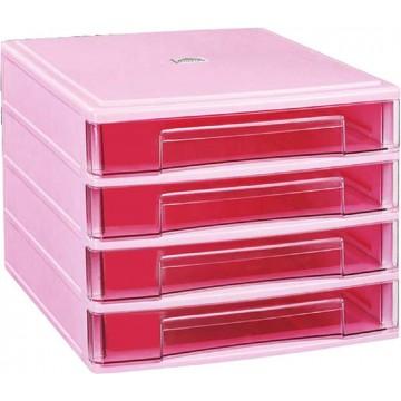 4-Drawer File Cabinet (350 x 270 x 220mm)