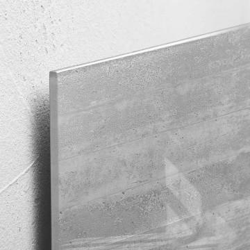 Sigel Magnetic Glass Board artverum (48 x 48 x 1.5cm) Concrete