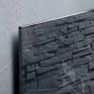Sigel Magnetic Glass Board artverum (48 x 48 x 1.5cm) Slate