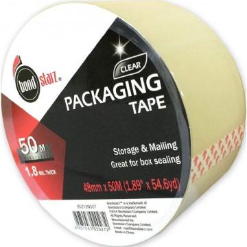 Bondstarz OPP Packaging Tape (48mm x 50m) Clear