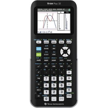 Texas Instruments Graphing Calculator TI-84-Plus-CE