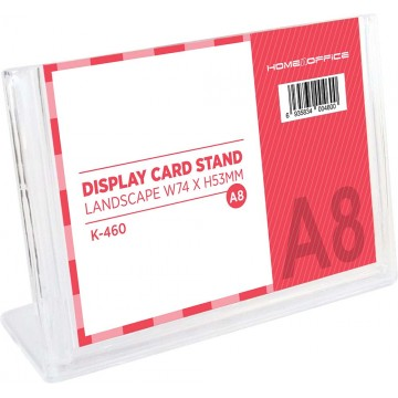 HnO Display Card Stand A8 (74 x 53mm) Landscape