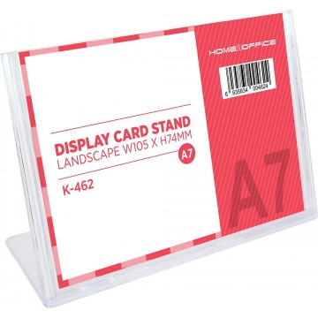 HnO Display Card Stand A7 (105 x 74mm) Landscape