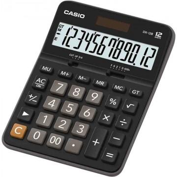 Casio Desktop Calculator (175.5 x 129 x 33.2mm) DX-12B 12 Digits