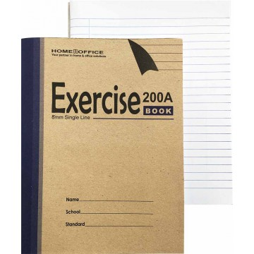 HnO Exercise Book (210 x 165mm) 200 Pages