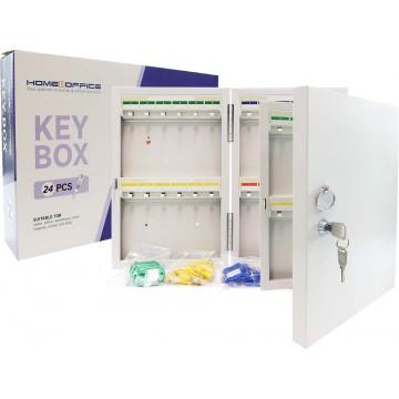 HnO Key Box (5 x 20.5 x 32cm) 24 Keys - With Installation
