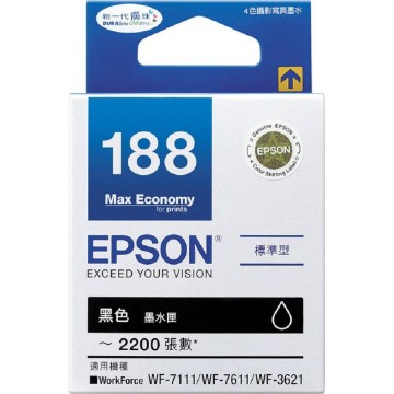 Epson Ink Cartridge (188) Black