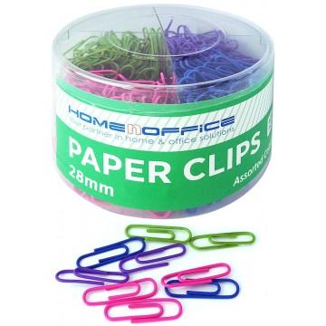 HnO Colour Paper Clip 28mm 600'S