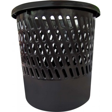 Plastic Waste Bin (26 x 26 x 26.5cm) Round