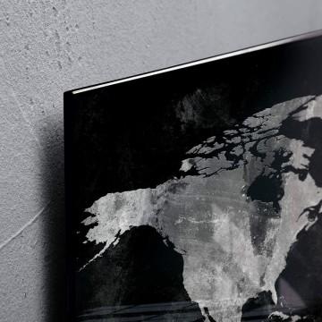 Sigel Magnetic Glass Board artverum (91 x 46 x 1.5cm) World Map