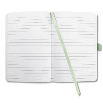 Sigel Jolie Hardcover Notebook A5 Lined Leaves