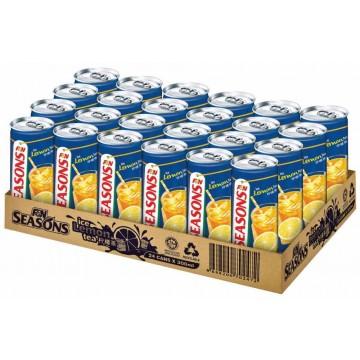 F&N Seasons Ice Lemon Tea Can Drink 24'S 300ml