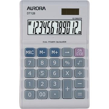 Aurora Desktop Calculator (140 x 90 x 23mm) DT128 12 Digits