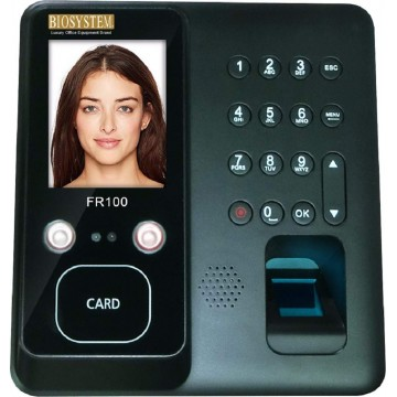 Biosystem Face & Finger Scan Time Attendance System FR100 - With Installation