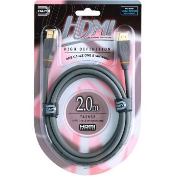 Daiyo High Definition HDMI Cable w/Ethernet 2.0m