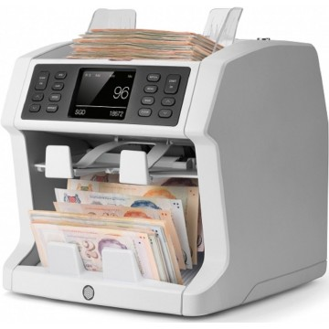 Safescan 2985-SX Professional Mixed Banknote Counter & Sorter
