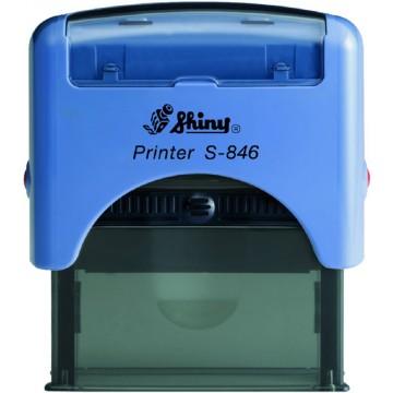 Shiny S-846 Custom-Made Self-Inking Stamp (65 x 27mm)