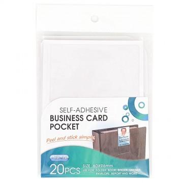 Adhesive Name Card Pocket 20's