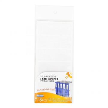Adhesive Label Pocket 25mm x 75mm 18's