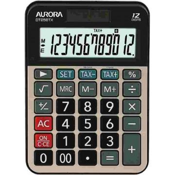 Aurora Tax Calculator (148 x 107 x 30mm) DT258TX 12 Digits