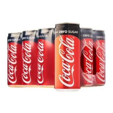 Coca-Cola Zero Can Drink 24'S 320ml