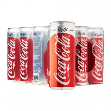 Coca-Cola Light Can Drink 24'S 320ml