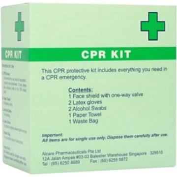 Disposable CPR Kit