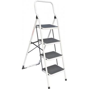 4-Step Foldable Steel Ladder 965mm