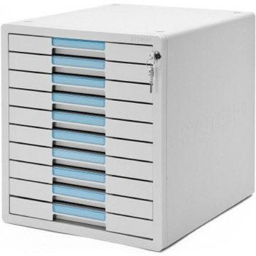 Sysmax 10-Drawer File Cabinet (300 x 355 x 332mm)