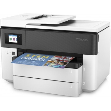 HP 4-in-1 Color OfficeJet Pro 7730 Wide Format A3 Multi-Function Printer - Ready Stocks!