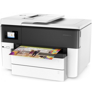 HP 4-in-1 Color OfficeJet Pro 7740 Wide Format A3 Multi-Function Printer - Ready Stocks!
