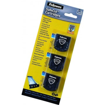 Fellowes SafeCut Cartridges Replacement Blade 3'S (Wave, Perforated, Fold)