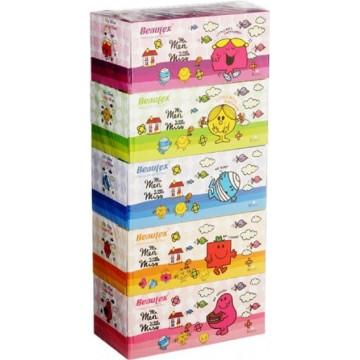 Beautex 3-Ply Facial Tissue Box (50 Boxes) 100 Sheets
