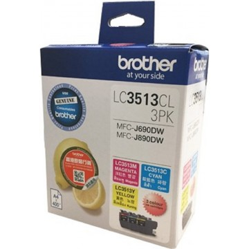 Brother Ink Cartridge (LC3513CL-3PK) Colour