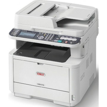 OKI 4-in-1 Monochrome Multi-Function LED Laser Printer MB472dnw