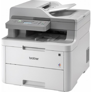 Brother 3-in-1 Colour LED Multi-Function Laser Printer DCP-L3551CDW - Ready Stocks!