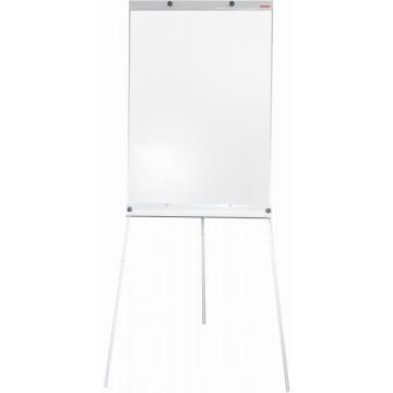 Magnetic Flip Chart Whiteboard (60 x 90cm) Tripod Stand - White Frame