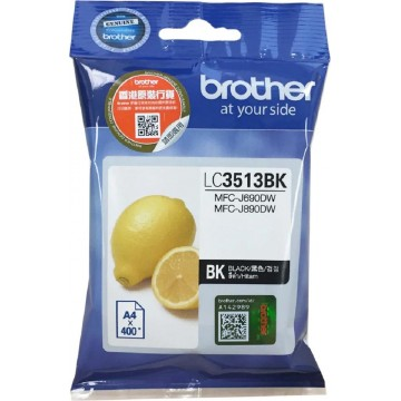 Brother Ink Cartridge (LC3513BK) Black