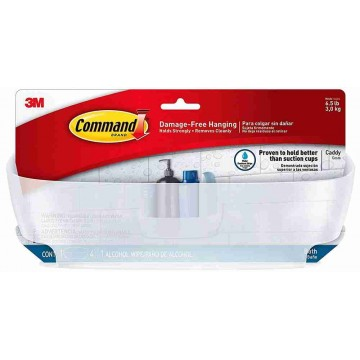 3M Command Damage-Free Hanging Bathroom Shower Caddy 3kg