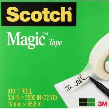 3M Scotch Magic Tape (19mm x 65.8m)