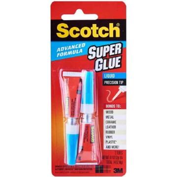 3M Scotch Advanced Formula Super Glue AD121 (Liquid) 2'S