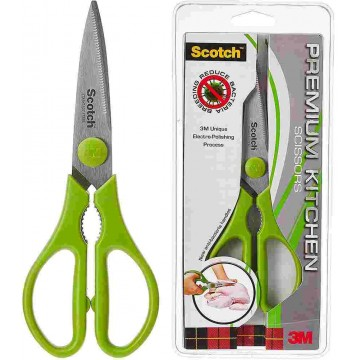 3M Scotch Antibacterial Premium Kitchen Scissors