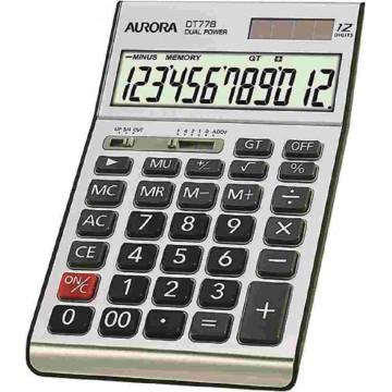 Aurora Desktop Calculator (177 x 107 x 29mm) DT778 12 Digits