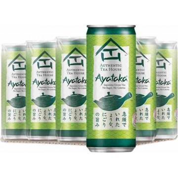 Authentic Tea House Ayataka Japanese Green Tea Can Drink 24'S 300ml
